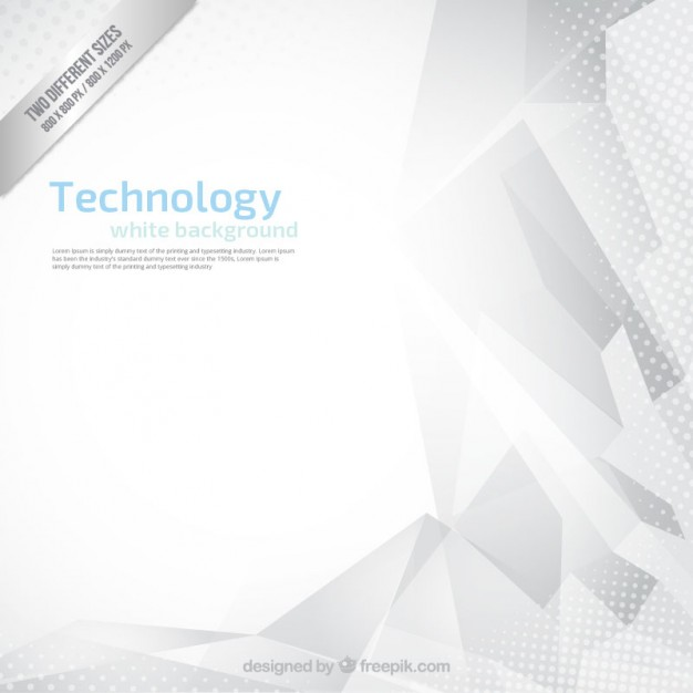 Abstract tecnology white background