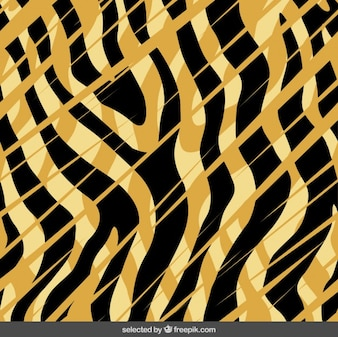 Abstract tiger print background