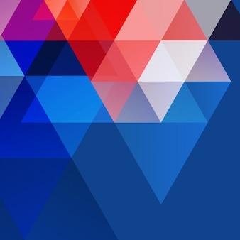 ベクトル抽象的な形状の背景のデザイン