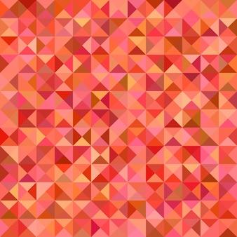 抽象的な三角形のタイルモザイクの背景 - カラフルなトーンの三角形からのベクトルグラフィック