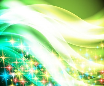 Abstract twinkled christmas background