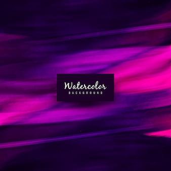 抽象的なバイオレットの水彩のデザインの背景