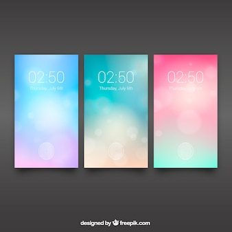 Abstract wallpaper mobile pack