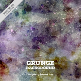 Abstract watercolor background in grunge style
