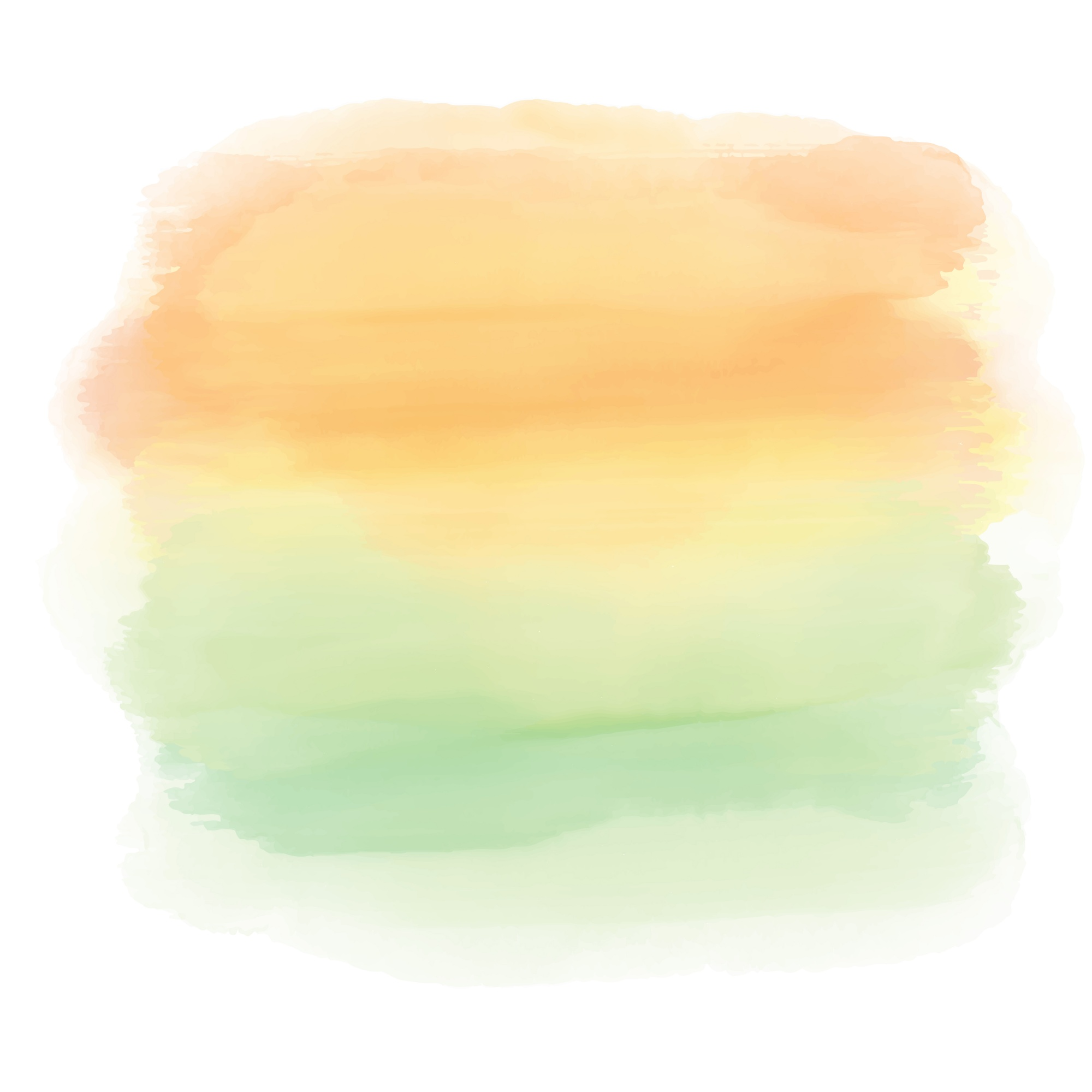 Abstract watercolor background of a sunset landscape