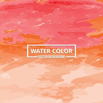 Abstract watercolor background with elegant paint brushes