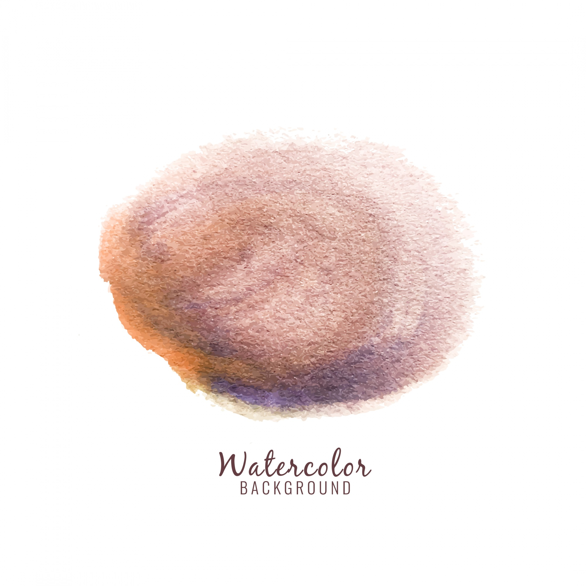 Abstract watercolor stain design background