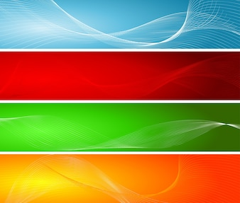 Abstract wave backgrounds