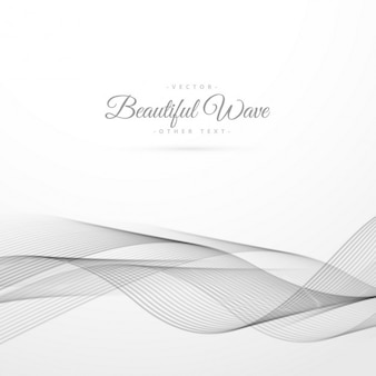 Abstract wave on a white background
