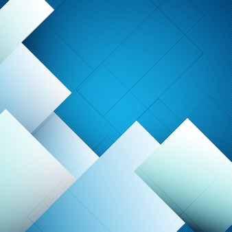 Abstract white and blue background.