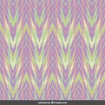 Abstract zigzag background in pastel colors