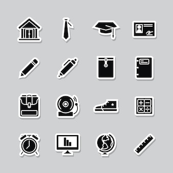 Academic icon collection