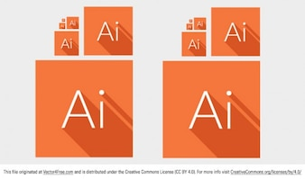 Adobe illustrator square icons