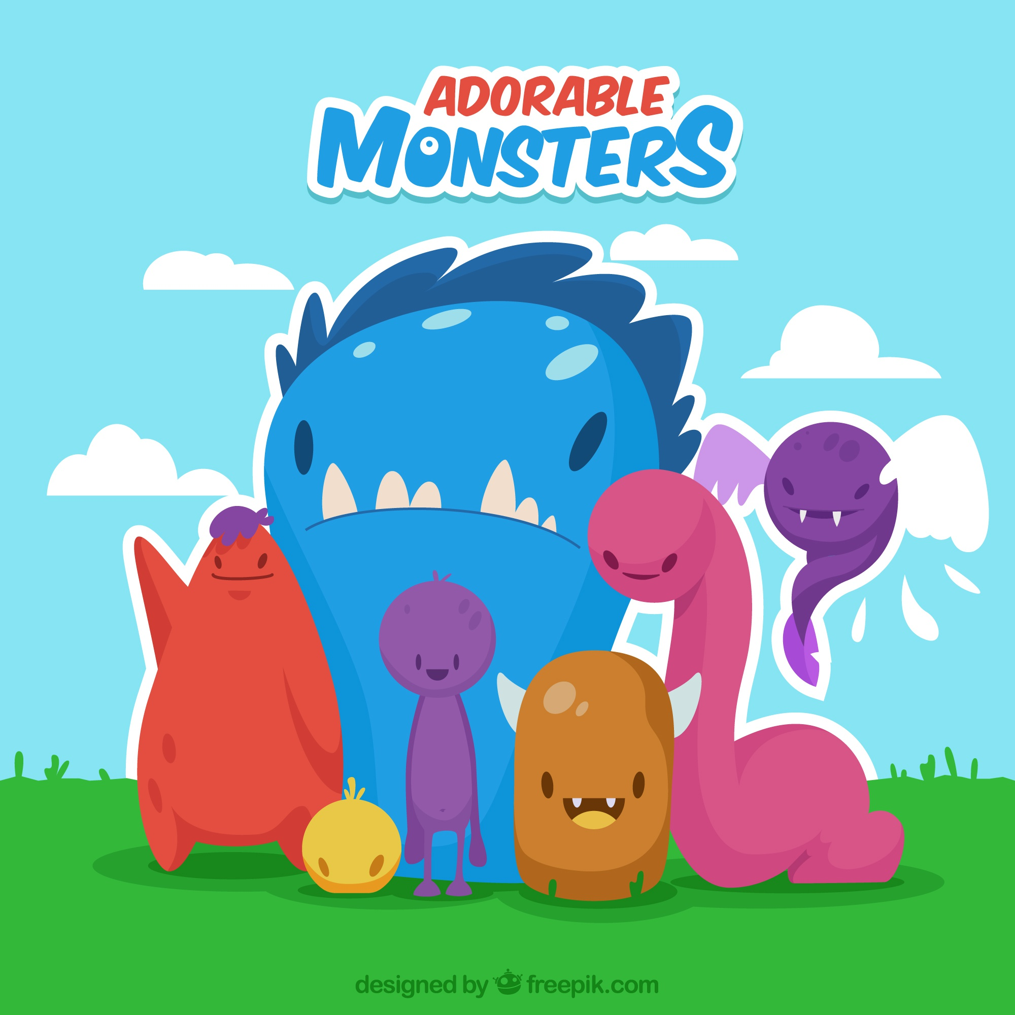 Adorable monsters