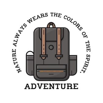 Adventure Backpack Logo Design