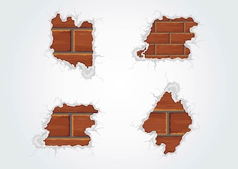 Aged Bricks  building concrete construction vector