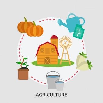 Agriculture background design