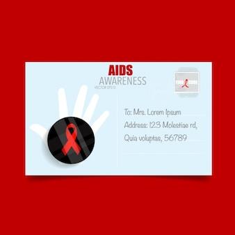 Aids awareness card