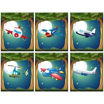 飛行機は、コレクションをデザイン