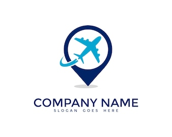 Airplane logo design
