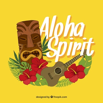 Aloha spirit background