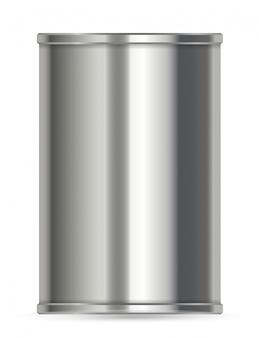 ラベルなしのアルミ缶