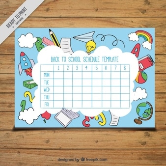 Amazing calendar for school