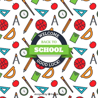 Amazing pattern for back to school