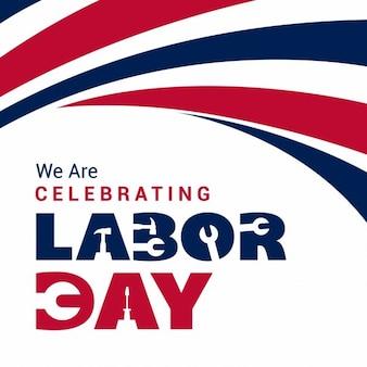 America labor day background
