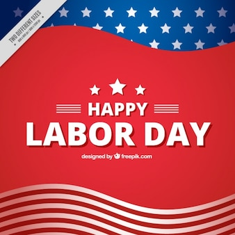American abstract background of labor day