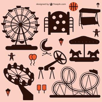 Amusement park graphics