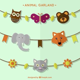 Animal garlands