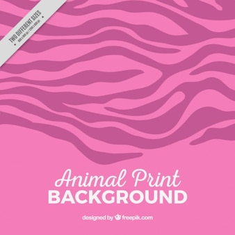 Animal pink background