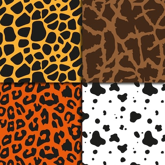animal print background collection