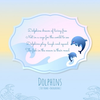 Animal stories, dolphins