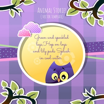 Animal stories, the owl