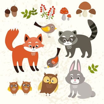 Animals background design