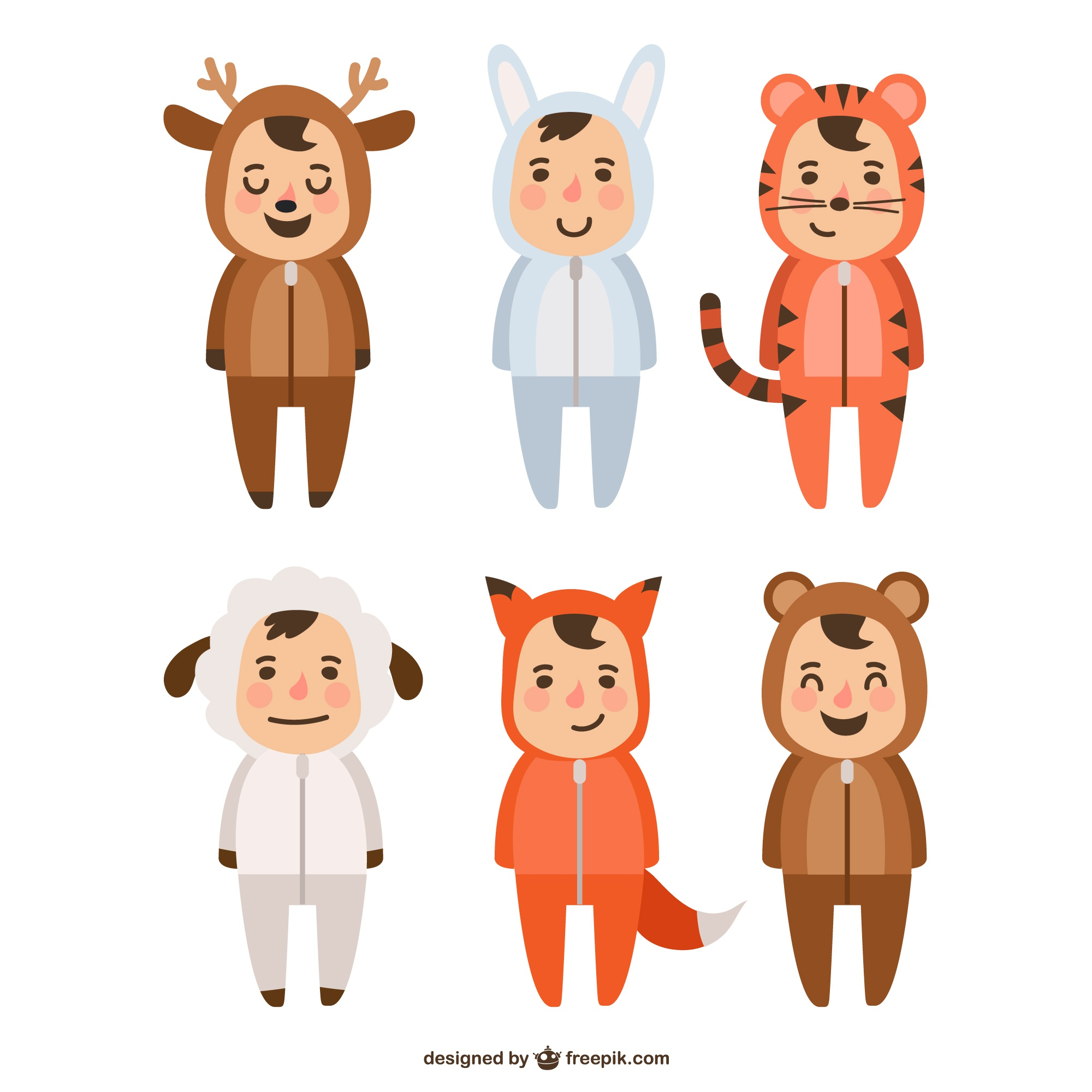 Animals costumes