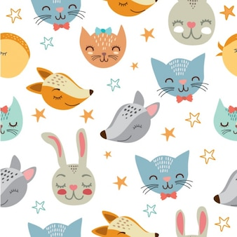 Animals pattern design