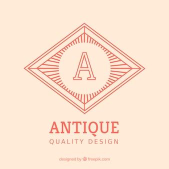 Antique badge
