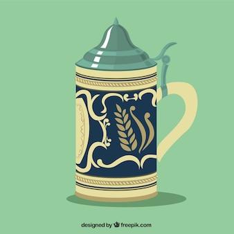 Antique beer mug