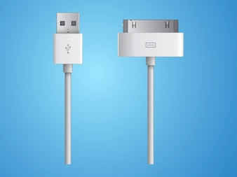 apple Dock charge connector vector