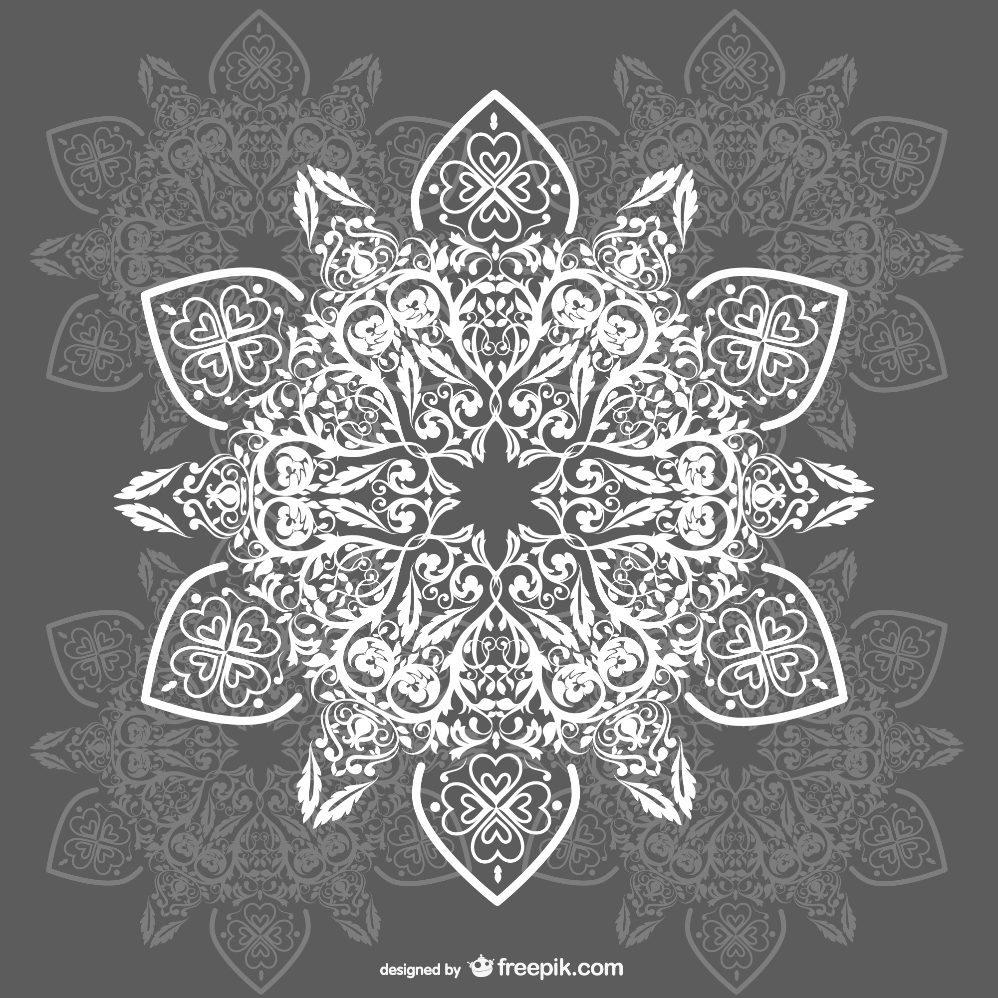 Arabesque ornaments background