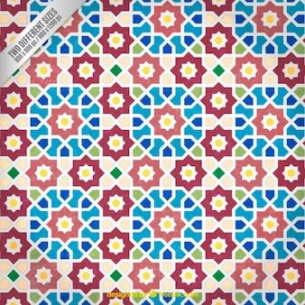 Arabic mosaic pattern