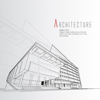 Architectural design vectors photos and psd files free for Architecture graphique
