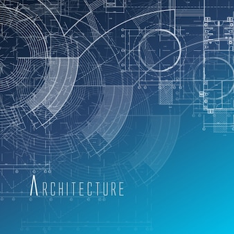 Architecture vectors photos and psd files free download for Architecture blueprints free