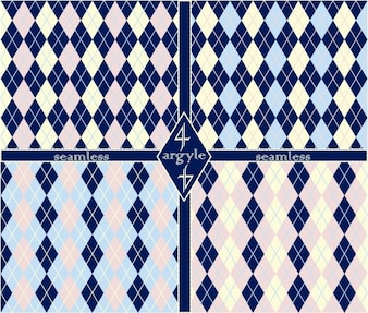 Argyle patterns set