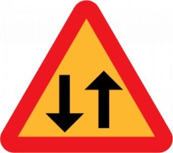 Arrowup Arrowdown directional sign