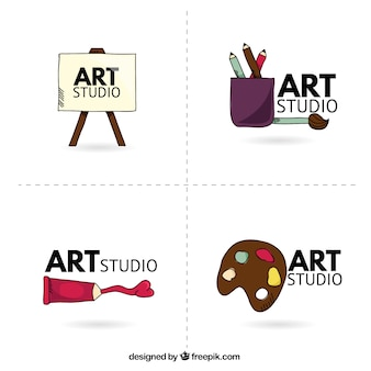 Art studio logo