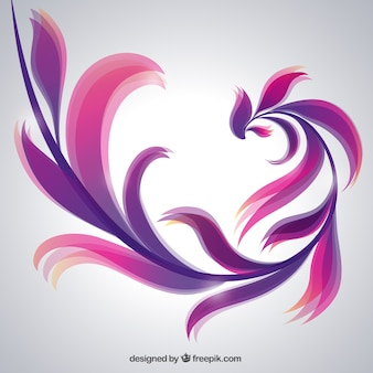 Artistic abstract background in purple tones